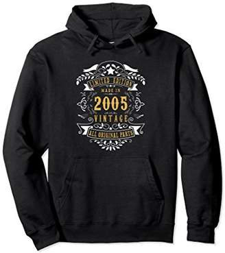 13 years Old Made In 2005 13th Birthday Gift Hoodies
