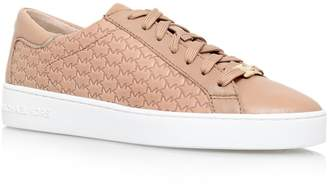 Michael Kors Colby flat lace up trainers