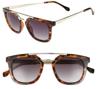 Seafolly Del Mar 49mm Tortiseshell Aviator Sunglasses