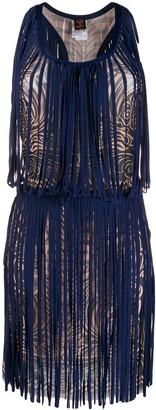 Jean Paul Gaultier Pre-Owned 2000s swirl print dress