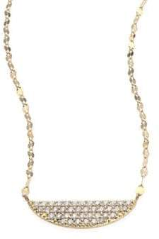 Lana Eclipse Diamond & 14K Yellow Gold Pendant Necklace