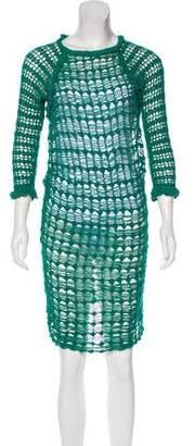 Etoile Isabel Marant Crocheted Midi Dress