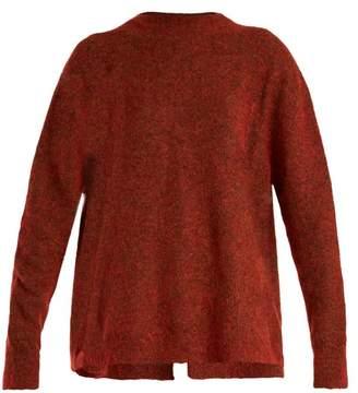 Ellery Tambourine Mohair Blend Sweater - Womens - Red Multi