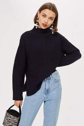 Topshop Funnel Neck Jumper