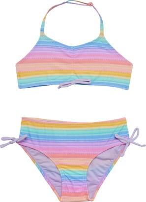 5e7fe088c5715 Hula Star Bikini Rainbow Two-Piece Swimsuit