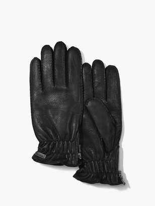 John Varvatos Deer Skin Gloves
