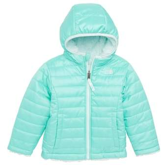The North Face Mossbud Swirl Reversible Water Repellent Jacket