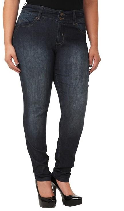 Super Curvy High Waist Skinny Jeans