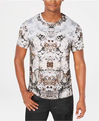 GUESS Men's Skull and Serpent T-Shirt