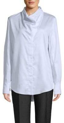 Stella McCartney Cotton Cowlneck Shirt