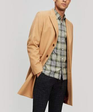 Paul Smith Camel Cashmere And Wool-Blend Overcoat