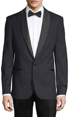 Aspetto Contrast Trim Tuxedo Jacket