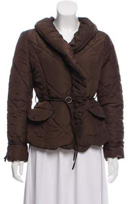 Max Mara Quilted Puffer Coat
