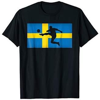 Sweden Flag Soccer T-shirt