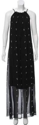Karl Lagerfeld Sleeveless Maxi Dress
