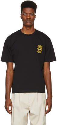 Kenzo Black Dragon Crest T-Shirt
