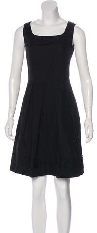Miu Miu Miu Miu Sleeveless Mini Dress