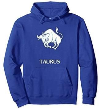 Taurus Zodiac Sign Hoodie w/Color
