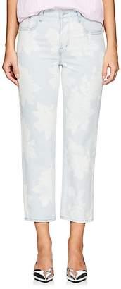 J Brand Women's Wynne Floral Straight Crop Jeans