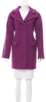 Moschino Virgin Wool Knee-Length Coat