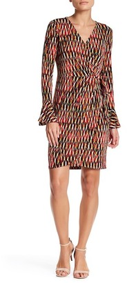 London Times Faux Wrap Dress (Petite) $108 thestylecure.com