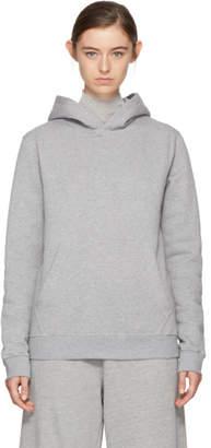 MSGM Grey Logo Hoodie