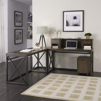 Home Styles Xcel 3 Piece L-Shape Desk Office Suite