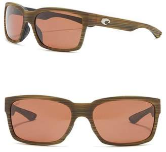 Costa del Mar Playa Polarized 56mm Square Sunglasses