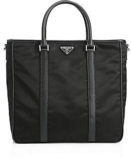 Prada Men's Nylon Logo Shopper