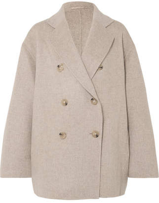 Acne Studios Odine Double-breasted Wool And Cashmere-blend Coat