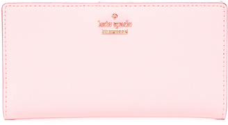 Kate Spade New York Stacy Snap Wallet $110 thestylecure.com