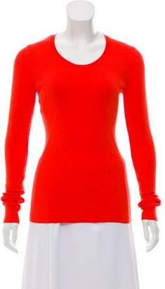 Cédric Charlier Rib Knit V-Neck Sweater