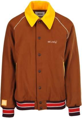 MSGM Baseball Jacket