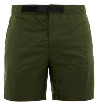 Prada Nylon Swim Shorts - Mens - Khaki