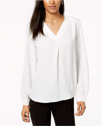 Nine West V-Neck Top
