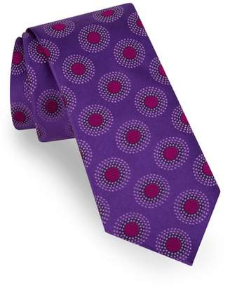 Ted Baker Circle Dot Silk Tie