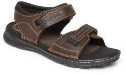 Rockport Darwyn Quarter Strap Leather Sandals