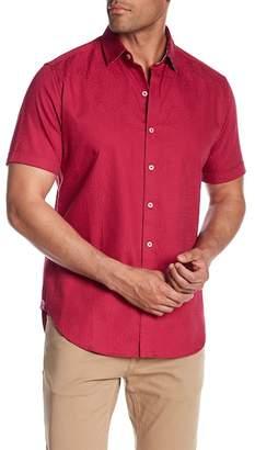 Robert Graham Windsor Short Sleeve Patterned Regular Fit Shirt