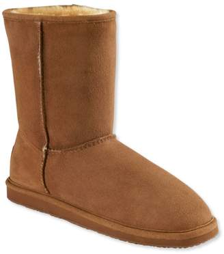 L.L. Bean L.L.Bean Women's Wicked Good Shearling Boots, Traditional Midheight