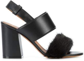 Givenchy block heel open toe sandals