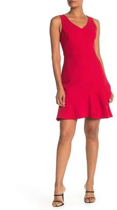 Trina Turk Spumante Tulip Ruffle Hem Dress