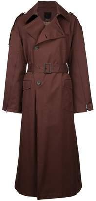 Aula long trench coat