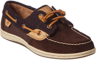Sperry Women's Songfish Suede Boat Shoe