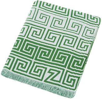 Zoeppritz Since 1828 Zoeppritz since 1828 - Silly Leg Cotton Throw - 145x190cm - Jade