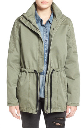 Volcom Stash Hooded Parka $135 thestylecure.com