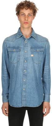 G Star New Tacoma Cotton Denim Shirt