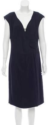 Valentino Sleeveless V-Neck Dress