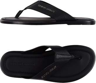 Giorgio Armani Toe strap sandals