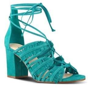 Nine West Genie Lace-Up Sandals