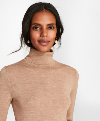 Brooks Brothers Merino Wool Turtleneck Sweater